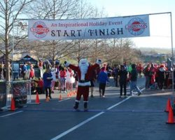 4th Annual Folsom Christmas Classic 5k & 10k Walk/Run and Santa Fun Run!